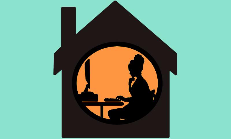 thuiswerken met e-learning